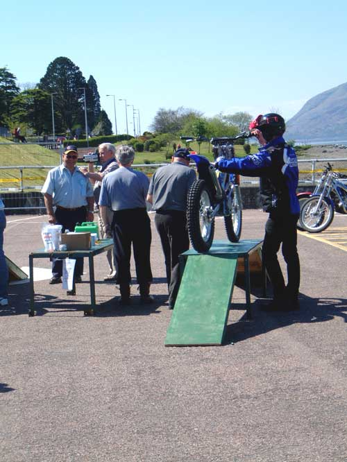 Weigh in at the Scottish Six Day